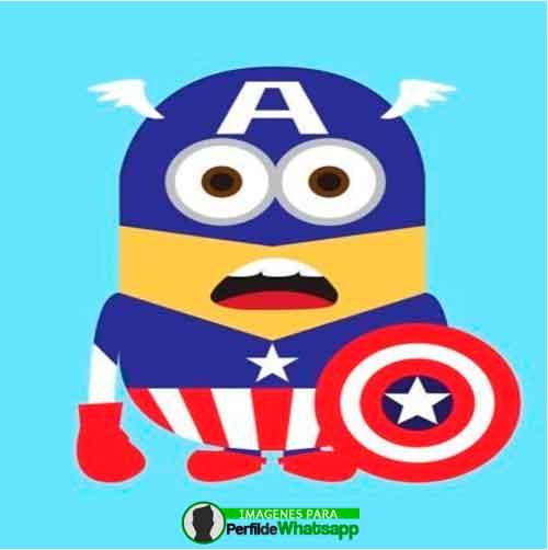 Imágenes de Minions como Avengers 24