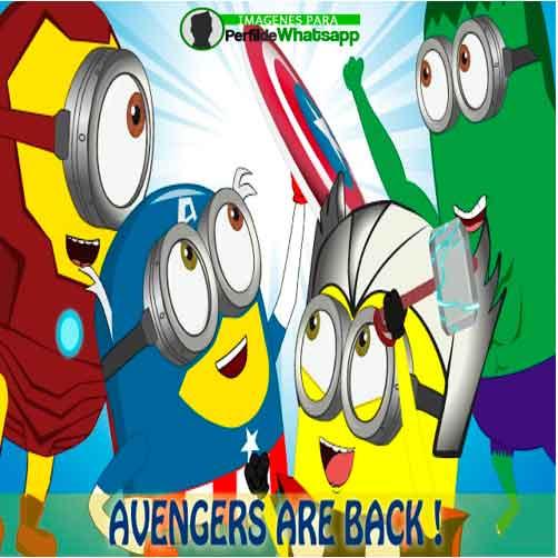Imágenes de Minions como Avengers 32