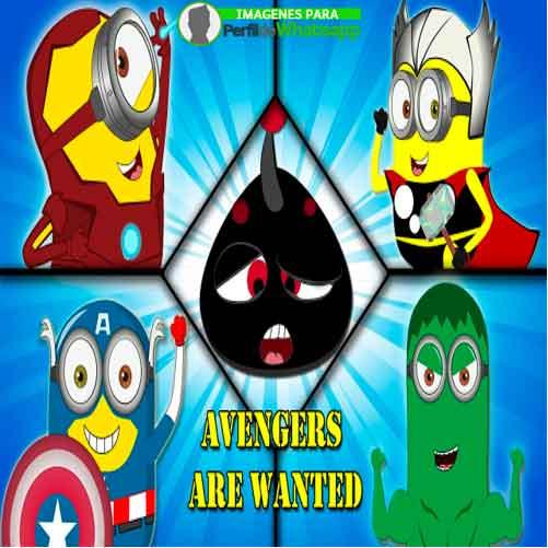 Imágenes de Minions como Avengers 34