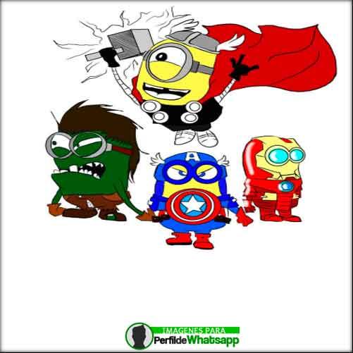 Imágenes de Minions Avengers (8)