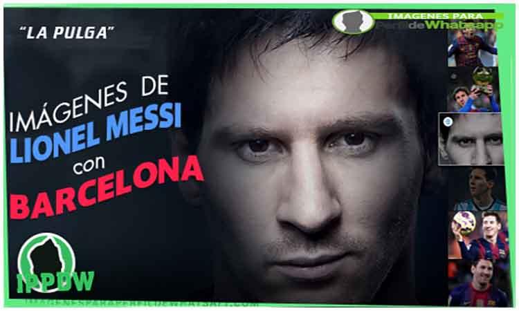 Messi para perfil