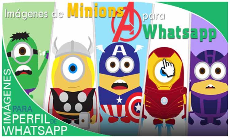 Imágenes de Minions como Avengers 3