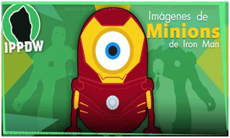 minions iron man