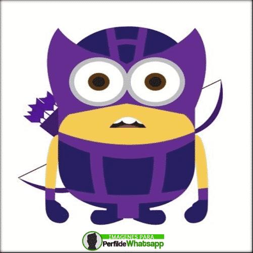 imagenes de minions hawk eyes avengers