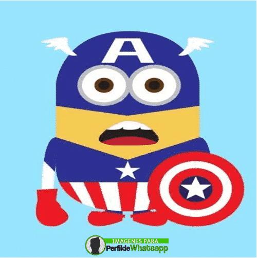imagenes de minions capitan america avengers