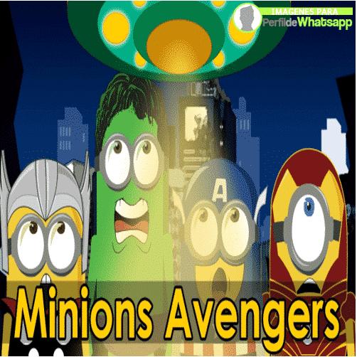imagenes de minions de avengers animados