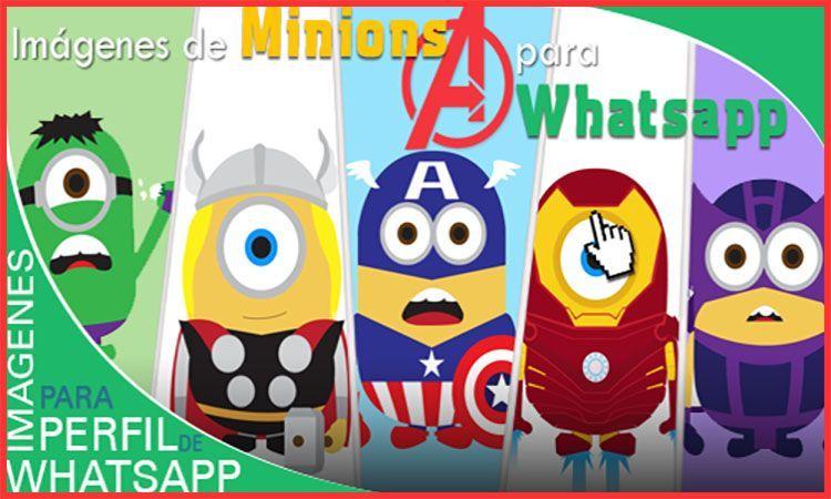 imágenes de minions avengers