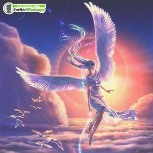 imágenes de ángeles bonitos en el cielo
