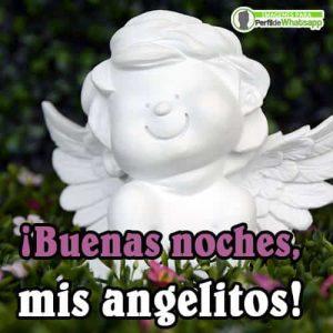 imágenes de ángeles de buenas noches