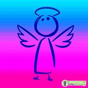 imágenes de ángeles de caricatura para compartir
