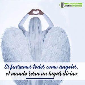 imágenes de ángeles reales con frases