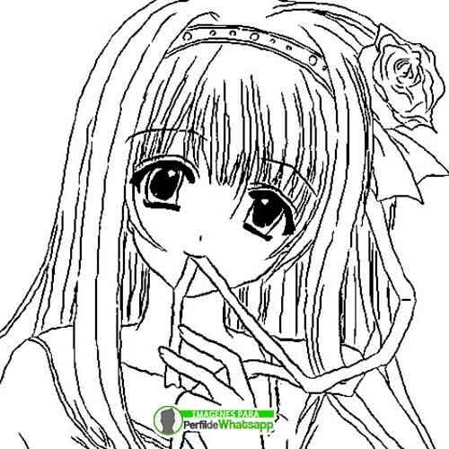 imagenes-de-anime-de-chicas-para-colorear