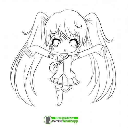 imagenes-de-anime-de-chicas-para-pintar