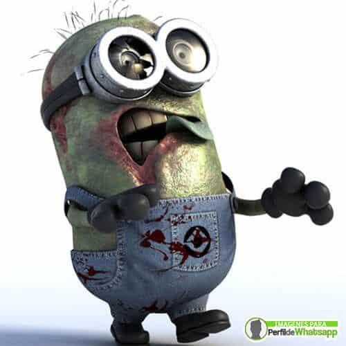 imagenes de minions zombie
