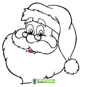 imagenes de navidad santa claus para colorear
