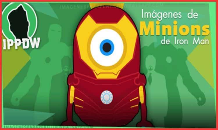 imagen de minion iron man